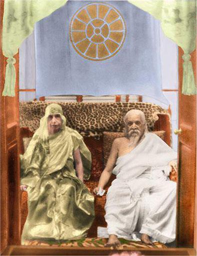 Даршан Шри Ауробиндо и Матери, 24 апреля 1950 года
