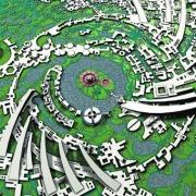 Окончательный городской план «Галактика, 1971г.