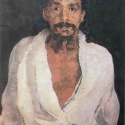 Шри Ауробиндо – портрет Иоханнеса Холенберга, 1915г.