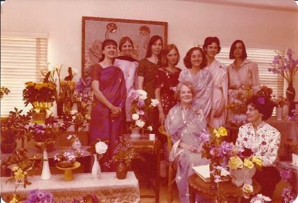 Пасхальный Фестиваль Цветов в КЦВЗ в 1970 г. – Джотиприя и её духовные ученики